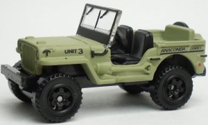Matchbox MB784 : Jeep Willys (2011 issue)