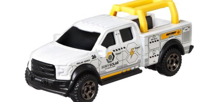 Matchbox MB970 : 2015 Ford F-150 Contractor Truck