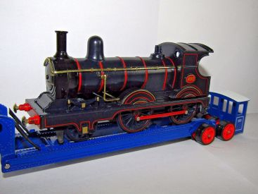 Matchbox Models of Yesteryear : Y16-5 : 1929 Scammell 100 Ton Low Loader & Train