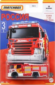 Matchbox Scania P360 Fire Engine