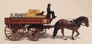 Matchbox Collectibles : 92545 : 1900 Horse Drawn Delivery Wagon (Hersheys Chocolate)