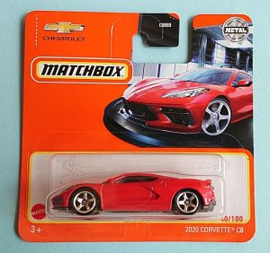 Matchbox MB1221 : 2020 Corvette C8 (2021 Basic Range)