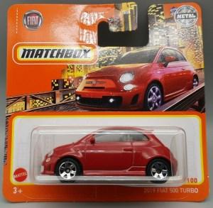 Matchbox MB1245 : 2019 Fiat 500 Turbo