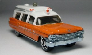 Matchbox MB780 : 1963 Cadillac Ambulance (Lesney Edition)