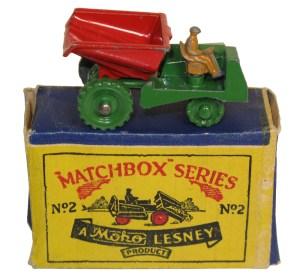 Matchbox 02A : Muir Hill Dumper (1953 release)