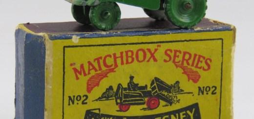 Matchbox 02A : Muir Hill Dumper