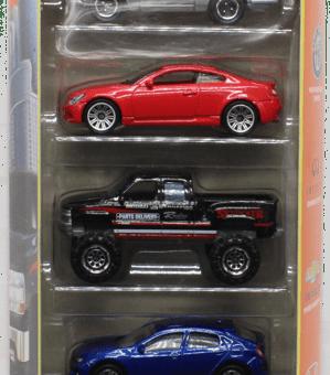 Matchbox 5 Pack : 2021 #05 – MBX City Sedans