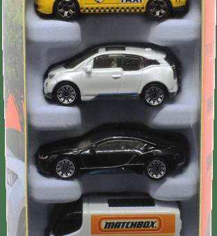 Matchbox 5 Pack : 2021 #10 – EV & Hybrid