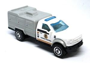 Matchbox MB1187 : ´10 Ford Animal Control Truck (2019 Basic Range)