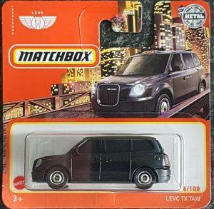 Matchbox MB1208 : LEVC LX Taxi (2021 Basic Range)