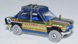 Matchbox MB1023 : 1970 Datsun 510 Rally (2018)