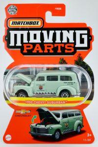 Matchbox MB1254 : 1950 Chevrolet Suburban (Moving Parts 2021)