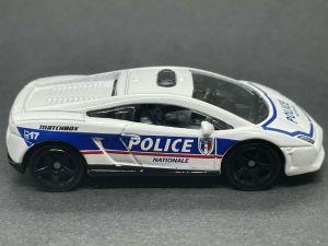 Matchbox MB867 : Lamborghini Gallardo LP560-4 Polizia (France Series)