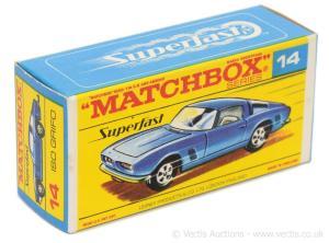 Matchbox Miniatures Box Type – F4