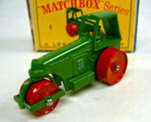 Matchbox 01C : Aveling Barford Road Roller