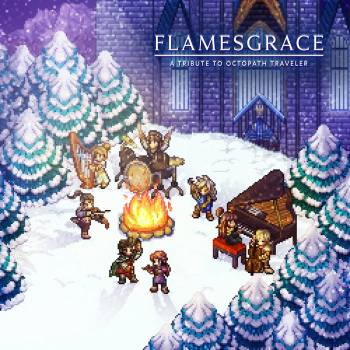 Flamesgrace: A Tribute to Octopath Traveler album cover art