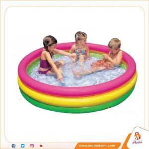 بركة سباحة ملونة للأطفال