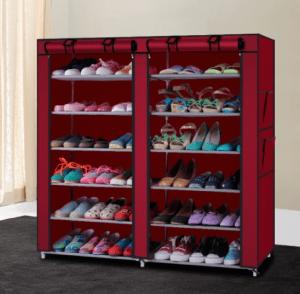 خزانة أحذية 6 رفوف سهلة التركيب