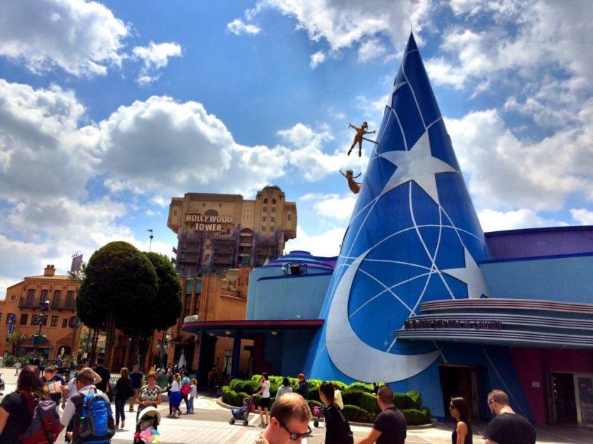 Walt Disney Studios ja suosikkimme Tower of Horror.