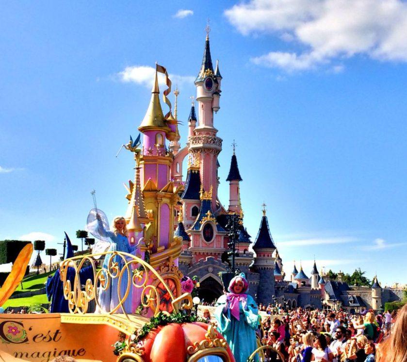 Disneyn (prinsessa)paraati.