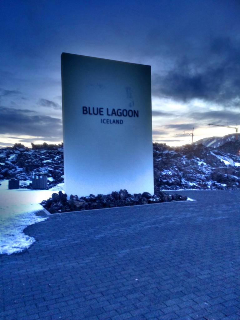 Blue Lagoonin sisäänpääsy.