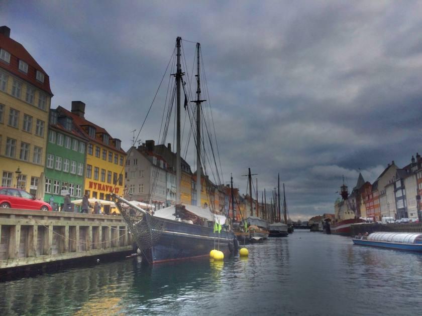 Nyhavnin satama-alue.