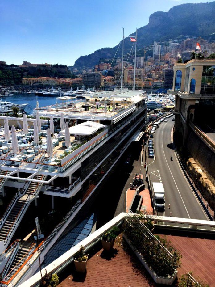 Näkymää Monacon Monte Carlosta.