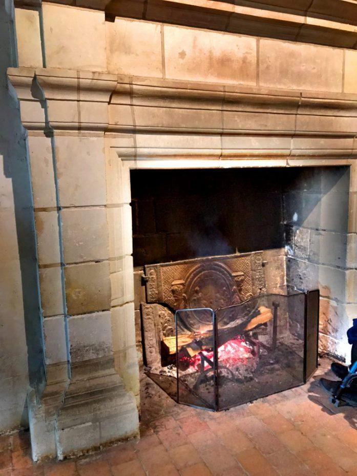 Jokaisessa linnassa lämpöä pidettiin yllä autenttisella tavalla.