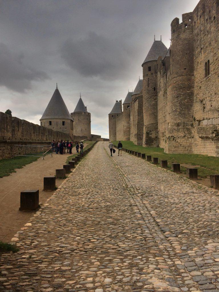 Carcassonnen linnoituskaupunki.
