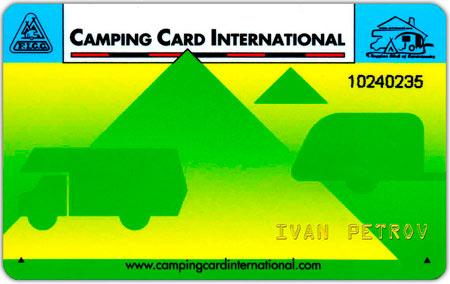 Kansainvälinen leirintäkortti