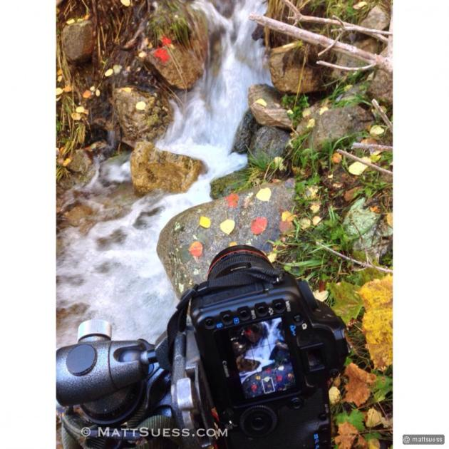 "Photographing ""Fall Serenity"""