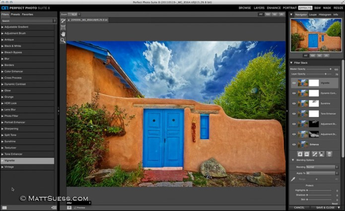 Image enhancement in Perfect Photo Suite 8