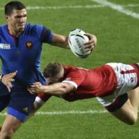 Coupe du monde de rugby - Rémy Grosso premier essai en bleu