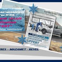 Peugeot Tarn - Traitement circuit climatisation offert pour toute révision