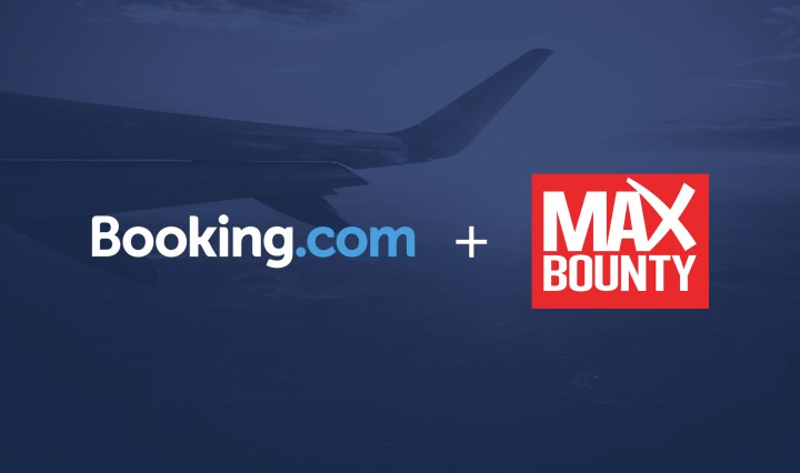 MaxBounty Becomes EXCLUSIVE North American Media Buyer of Booking.com