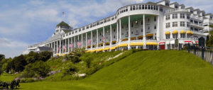 Mackinac Island's celebrated Grand Hotel.