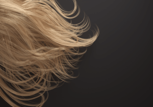 Figure 8: An example of blonde hair created using Hair Assistant.