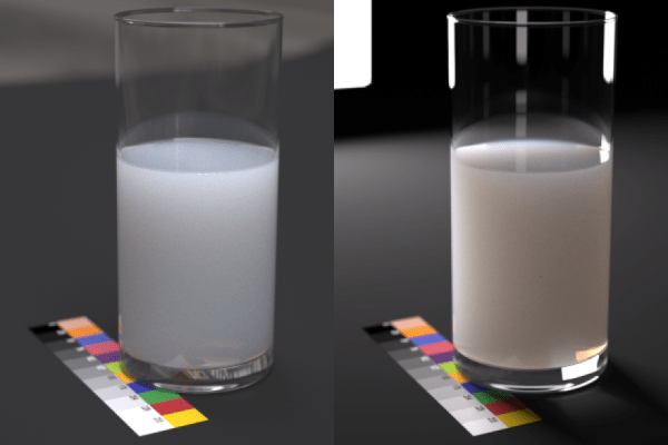 Figure 5: An example of drink which is not easy to simulate accurately using some other SSS models but Maxwell.