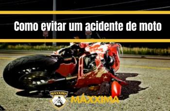 Como evitar um acidente de moto