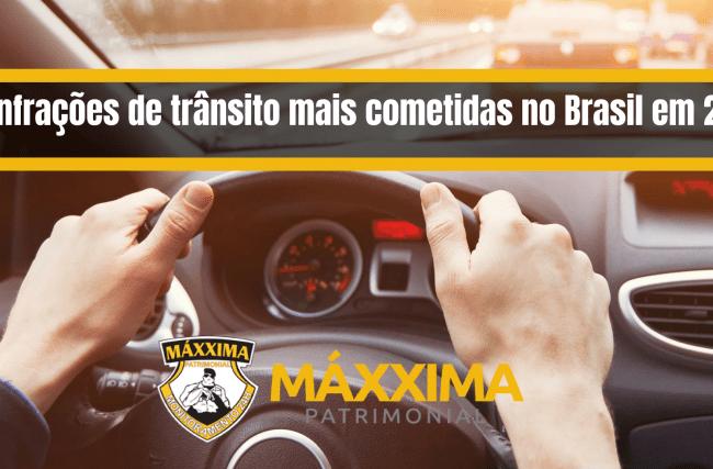 10 infrações de trânsito mais cometidas no Brasil em 2017