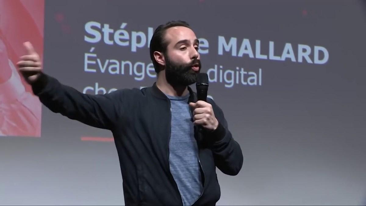 Stéphane Mallard en conférence sur la disruption
