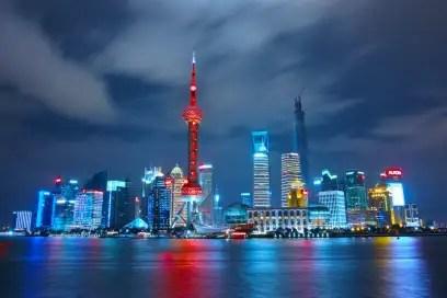 Chinese city landscape