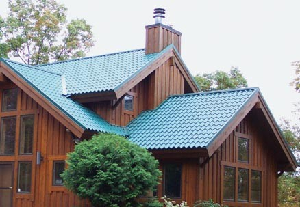metal roofs that look like tile how