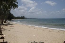 长长的海滩
