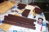 Vorbereitungen für den Bau der Modulfüße - nach MECH-Norm ;o)