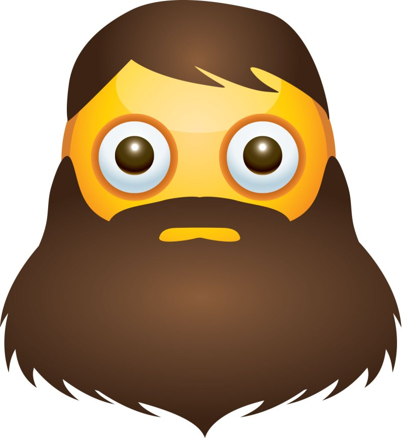 Swish Beard Emoji Drops Emojis We Wish Existed 2017