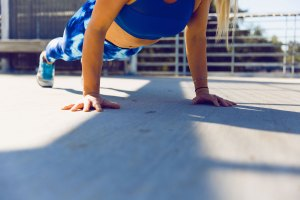 Core strengthening can help with incontinence