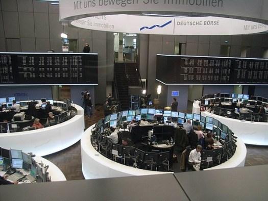 ein Bild der Frankfurter Börse