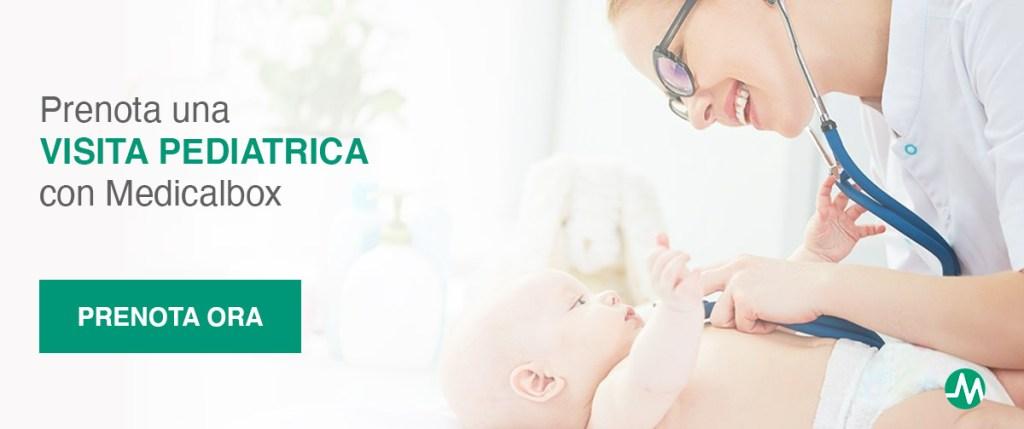 Prenota una visita pediatrica per il tuo bambino con medicalbox