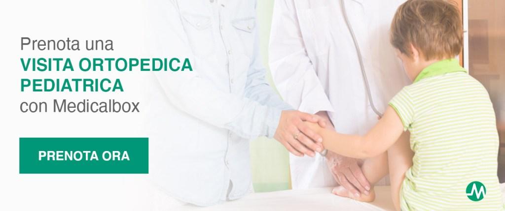 prenota una visita ortopedica pediatrica